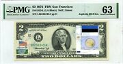 2 Dollars 1976 Stamp Cancel Flag Un From Estonia Lucky Money Value 3000