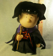 Peanuts Gang Gemmy Lucy Witch Animated Halloween Figure