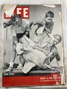 1945 Life August 6-b-25 Hits Empire State Building Gertrude Stein Coney Island