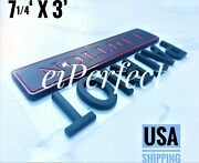 Patriot Edition Black Fit All Car And Truck Rear Bumper Tailgate Logo Emblems Word