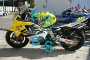 Yellow Injection Fairing + Tank Cover Fit Honda Cbr600f4i 2002 2001-2003 45 A6