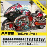 Airbrushed Fairings Bodywork Complete + Tank Cover For Gsx-r1300 08-19 58