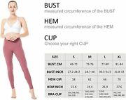 Cutimao Sports Bras For Women, Stretchy Long Line Medium Support Workout Yoga Br