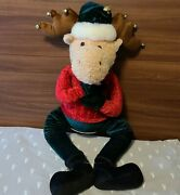 Gemmy Talking Moose Rare Christmas Animated Large 31 See Video In Description