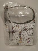 Disney Dooney And Bourke Epcot Food And Wine Festival 2018 Tote Purse Brand Nwt
