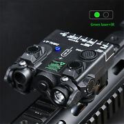 Wadsn Dbal-a2 Green Ir Aiming Laser With White Hunting Strobe Light Black
