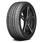 Continental Set Of 4 Tires 275/40zr22 W Extremecontact Dws06 Plus Performance