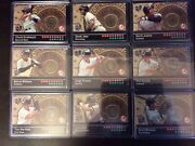 2000 Topps Subway Series Fan Fare Tokens Yankees Set Jeter Rivera Canseco ++++