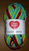 One Skein Of Red Heart Sweet Home Chenille Yarn, 10.5 Oz, 193 Yds, Blacklight