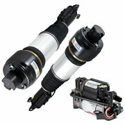 For Mercedes E320 E500 And Cls500 Pair Arnott Front Air Struts W/ Compressor