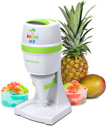 Electric Hawaiian Shave Ice And Snow Cone Maker, Includes Reusable Cup And 2 Cups