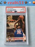 1993 Hoops 5th Anniversary 264 Shaquille O'neal Perfect Psa 10 Gem Mint Lowpop