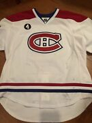 Montreal Canadians Smith Pelly Game Worn Jersey 2014-15