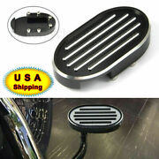 Motorcycle Black Cut Brake Pedal Pad Cover For Harley Softail Night Rod Vrscd Us