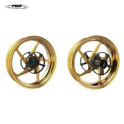 Mos Forged Aluminum Alloy Wheels Rims For Yamaha Tmax 530 And Tmax 560 Gold