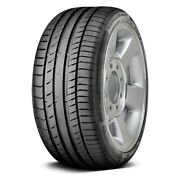 Continental Set Of 4 Tires 275/45zr18 Y Contisportcontact 5 Performance