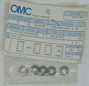 New Omc Outboard Marine Corp Boat Lockwasher Lot Of 5 Part No. 302290