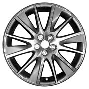 For Toyota Highlander 17-19 Alloy Factory Wheel 12 Turbine-spoke Machined And