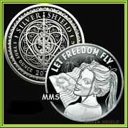 2021 1oz Let Freedom Fly Proof Silver Shield Freedom Girl Series 2 Low Coas