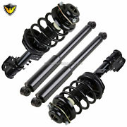 For Infiniti Qx4 Nissan Pathfinder 1998-99 Front Rear Strut Spring And Shocks Tcp