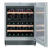 Liebherr Wu 3400 Vinidor 24-inch Wine Cabinet With Two Silver