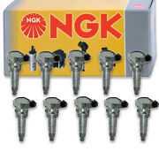 10 Pcs Ngk 48873 Ignition Coil For U5259 E1147 178-8510 Ic750 48873 Uf647 - Tg