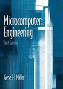 Microcomputer Engineering By Miller, Gene Hardback Book The Fast Free Shipping