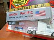 Mib Road Champs Union Pacific Freight Semi Trailer 187 1996 Truck Die Cast Toy