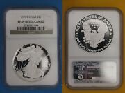 1993 P Pf 69 Eagle Ngc Ultra Cameo Certified Graded Authentic Silver Oce 203