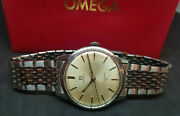 Rare 1964 Omega Seamaster 30 Cal286 Silver Dial Manual Wind Manand039s Watch