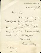 Henry M. Stanley - Autograph Letter Signed 11/14/1885