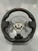 New Professional Sports Flat Real Carbon Fiber Steering Wheel For Nissan 350z