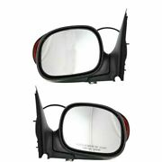 New Set Of 2 Mirrors Driver And Passenger Side F150 Truck F250 Lh Rh F-150 Pair
