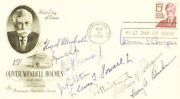 The Warren E. Burger Court - First Day Cover Signed With Co-signers