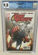 Young Avengers 1 Cgc 9.8 Director's Cut White Pages