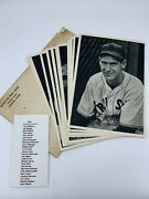 1940 Boston Red Sox Team Picture Pack Photo Set 25/25 W/ Ex/mt Ted Williams Rc