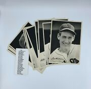 1942 Boston Red Sox Team Picture Pack Photo Set 25/25 Gd/vg Ted Williams