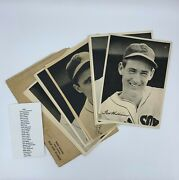 1943 Boston Red Sox Team Picture Pack Photo Set 25/25 Ted Williams W/ Envelope