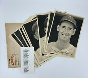 1946 Boston Red Sox Team Picture Pack Photo Set 25/25 Ted Williams W/ Envelope