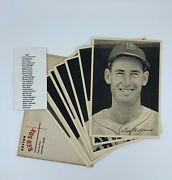 1947 Boston Red Sox Team Picture Pack Photo Set 25/25 Ted Williams W/ Envelope