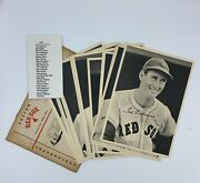 1949 Boston Red Sox Team Picture Pack Photo Set 25/25 Ted Williams W/ Envelope