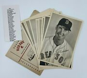 1954 Boston Red Sox Team Picture Pack Photo Set 30/30 Ted Williams W/ Envelope
