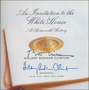 William J. Bill Clinton - Book Signed Co-signed By Hillary Rodham Clinton