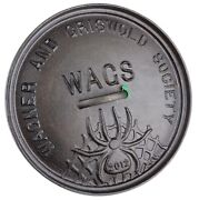 Cast Iron Chuckwagon Cover Wager And Griswold Society And039wagsand039 Commemorative Spider