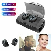 Mini Bluetooth Headset Earphones Earbuds With Mic For Iphone 12 11 X 8 7 Samsung