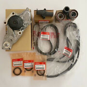 Genuine Oem Timing Belt Kit With Water Pump For Honda/acura Accord Odyssey V6 Nw
