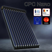 Solarbayer Tube Collector Cpc Nero Capteur Solaire Thermique Systandegraveme Solaire