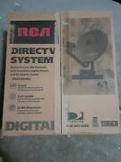 Rca Direct Tv System Ds2122rd Ax1 Brand New Open Box, Contents Never Removed.