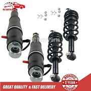4pcs Front+rear Shock Absorber Assys For Chevy Tahoe Suburban Magnetic 84176631