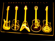 Best Band Ever Guitar Weapon Led Light Sign Room Garage Guitar Band Neon Signs